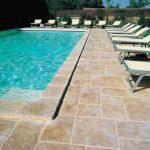 ¿Por qué es una buena opción añadir hormigón impreso alrededor de tu piscina? 1