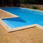 ¿Por qué es una buena opción añadir hormigón impreso alrededor de tu piscina? 9